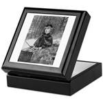 Ride in the Snow Keepsake Box