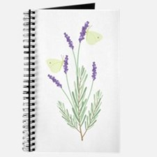 Lavender Butterfly Journal