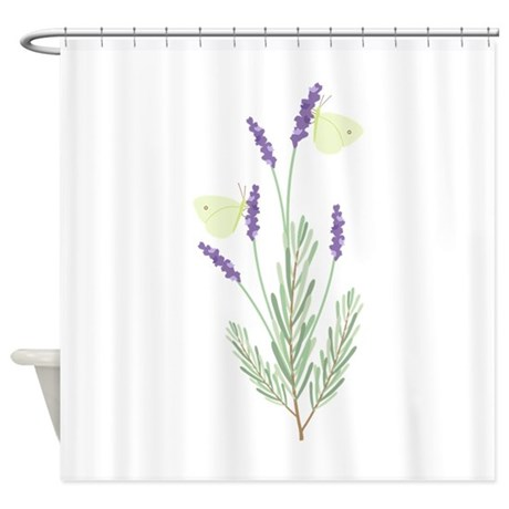 Lavender Butterfly Shower Curtain by Hopscotch25 Lavender Shower Curtains