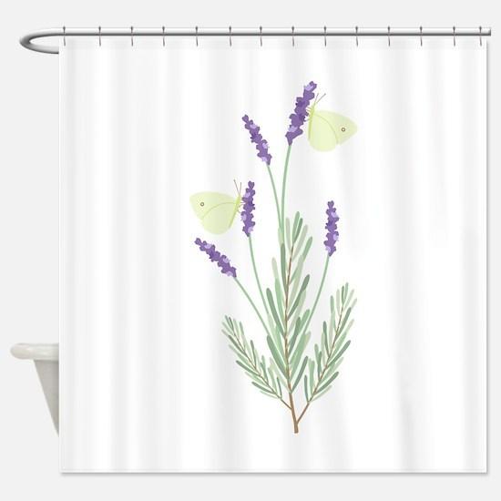 Lavender Shower Curtain Ira Design