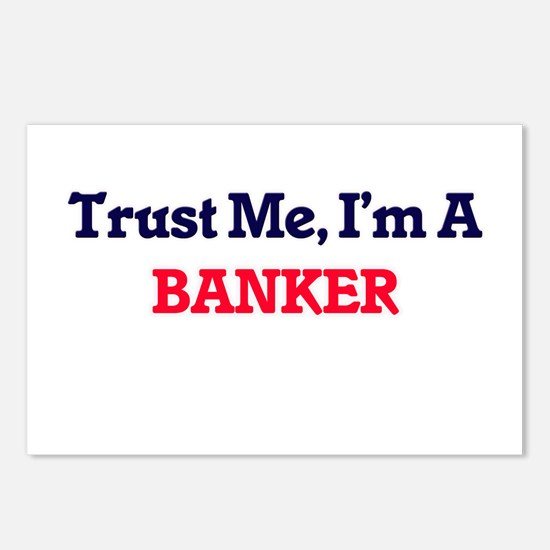 Trust me, I'm a Banker Postcards (Package of 8)