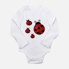 Four ladybugs Body Suit