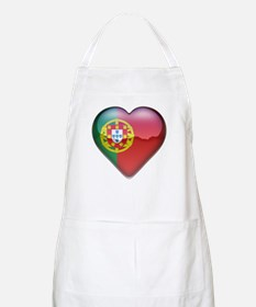 Portugal Heart BBQ Apron