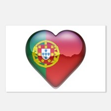 Portugal Heart Postcards (Package of 8)