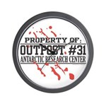 Outpost #31 Wall Clock