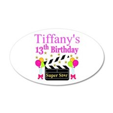 PERSONALIZED 13TH Wall Decal