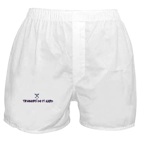 TRAINERS DO IT HARD Boxer Shorts