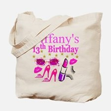 PERSONALIZED 13TH Tote Bag