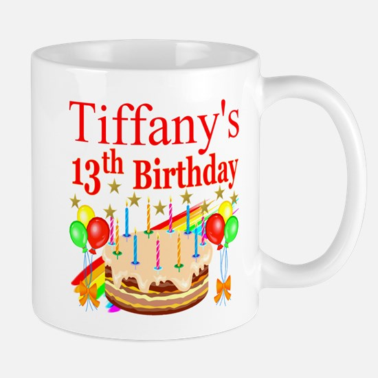 PERSONALIZED 13TH Mug
