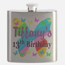 PERSONALIZED 13TH Flask