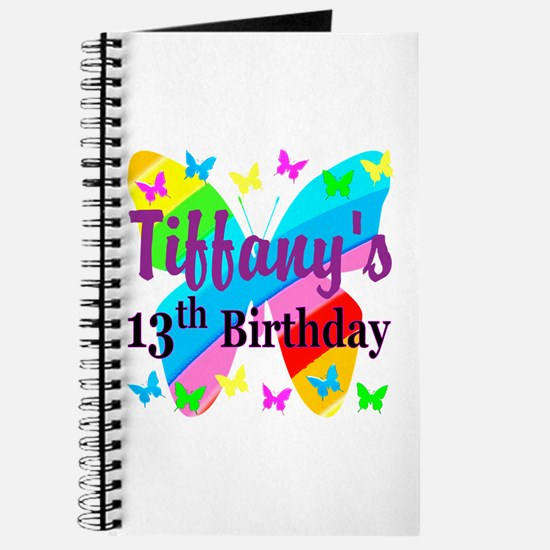PERSONALIZED 13TH Journal