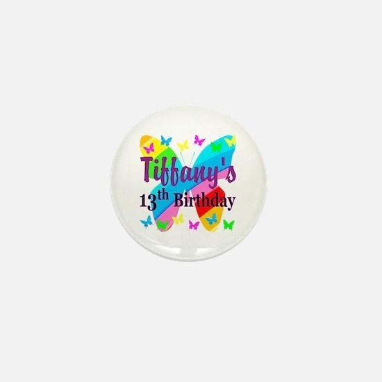 PERSONALIZED 13TH Mini Button