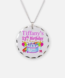 PERSONALIZED 13TH Necklace