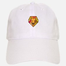 Lion Head Low Polygon Baseball Baseball Baseball Cap