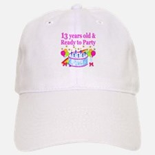 13TH BIRTHDAY Baseball Baseball Cap