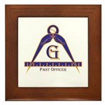 Past Officer w/24 inch Gage Framed Tile