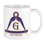 Past Officer w/24 inch Gage Mug