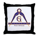 Past Officer w/24 inch Gage Throw Pillow