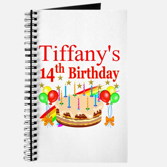 14TH BIRTHDAY Journal