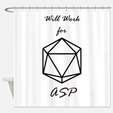 RPG ASP Shower Curtain