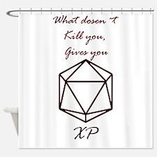 RPG XP Shower Curtain