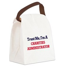 Trust me, I'm a Charities Adminis Canvas Lunch Bag