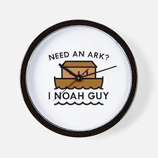 Need An Ark? Wall Clock