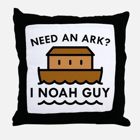 Need An Ark? Throw Pillow