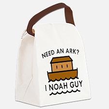 Need An Ark? Canvas Lunch Bag