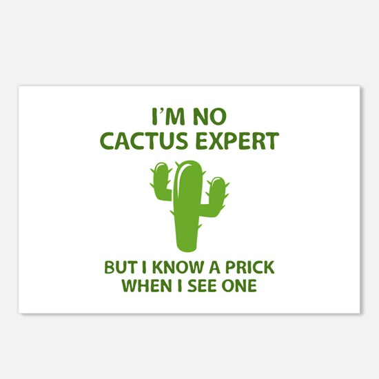 I'm No Cactus Expert Postcards (Package of 8)