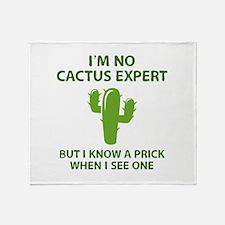I'm No Cactus Expert Stadium Blanket