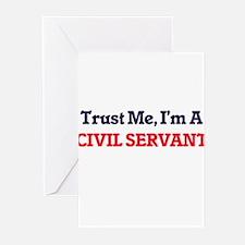 Trust me, I'm a Civil Servant Greeting Cards