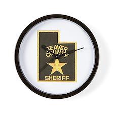 Beaver County Sheriff Wall Clock