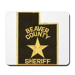 Beaver County Sheriff Mousepad