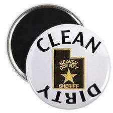 Beaver County Sheriff Dishwasher Magnet