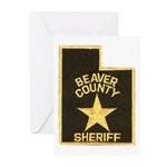 Beaver County Sheriff Greeting Cards (Pk of 20)
