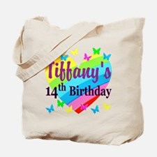 14TH BIRTHDAY Tote Bag
