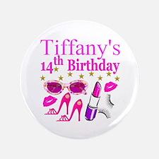 14TH BIRTHDAY Button