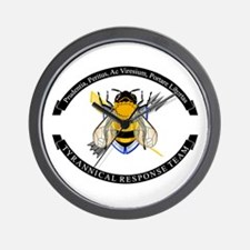Bee TRT (With Banners) Wall Clock
