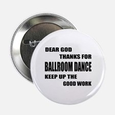 """Some Learn Ballroom dance 2.25"""" Button (10 pack)"""
