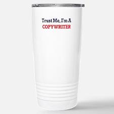 Trust me, I'm a Copywri Stainless Steel Travel Mug