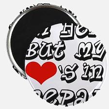 Heart in Nepal Magnet