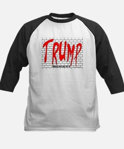 Trump's Wall Baseball Jersey
