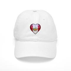 Peru Heart Baseball Cap