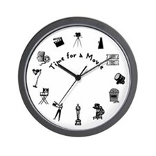 Time for a Movie Wall Clock