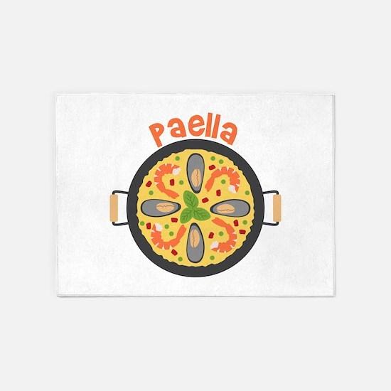 Paella 5'x7'Area Rug