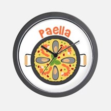 Paella Wall Clock