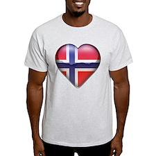 Norway Heart T-Shirt