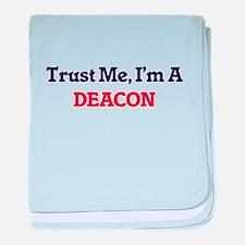 Trust me, I'm a Deacon baby blanket