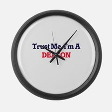 Trust me, I'm a Deacon Large Wall Clock